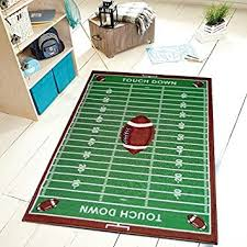 Football Field Area Rug Universal Sports Football Field Area Rug Kitchen