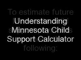 minnesota child support calculator mn how to use it youtube
