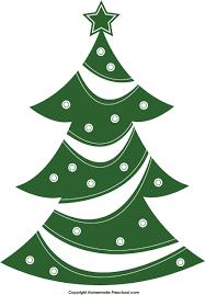 clip art christmas tree 43036