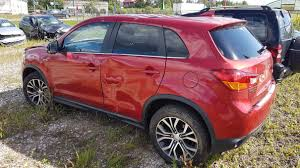 jeep cars red mitsubishi asx 2014 1 6 mechaninė 4 5 d 2017 8 15 a3402 used car
