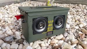 ammocan boombox 50 cal diy build pics and wiring diagram inside