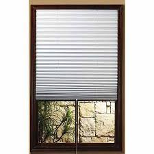Walmart Blinds In Store 1 2 3 White Shade Vinyl Room Darkening Temporary Pleated Shades