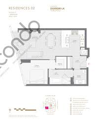shangri la hotel residences talkcondo see all plans