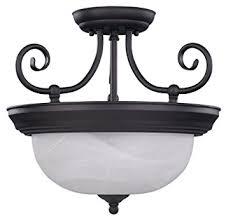 Bronze Semi Flush Ceiling Light by Canarm Isf20a02orb 2 Light Julianna Semi Flush Semi Flush Ceiling