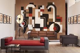 creative design drawing room furniture with unique drawing painted