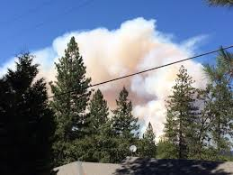 Wildfire Colfax Ca by Nevada County Fire Downgraded To 1 500 Acres 5 Contained
