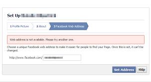 What Is Vanity Url Claiming A Facebook Vanity Url That Is Already Taken