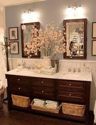 bathroom vanity decorating ideas 31 gorgeous rustic bathroom decor ideas to try at home hgtv