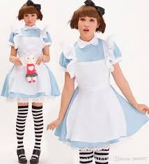 Halloween Costume Kids Girls Halloween Costumes Kids Girls Deluxe Alice Wonderland Blue