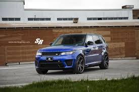 range rover sport custom wheels range rover sport svr on pur wheels british swag autoevolution
