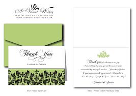 Wedding Poems For Invitation Cards Wedding Invitations And Thank You Cards Thank You Cards A Vibrant
