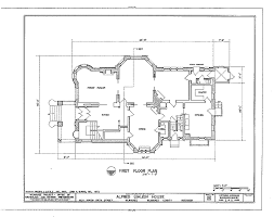 house plans historic floor plans alfred uihlein house milwaukee wisconsin