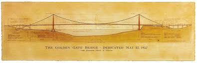 the very strange original golden gate bridge paint schemes