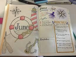 nautical photo album june bujo design nautical themed album on imgur