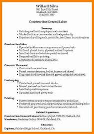 resume construction experience construction worker resume gse bookbinder co