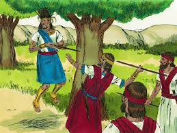 free bible images absalom leads a rebellion against king david