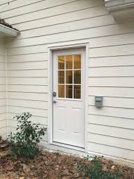 Wide Exterior Doors by Opening New Doors Installing An Exterior Door Blood Sweat And