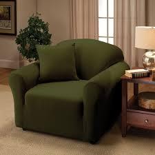 green chair slipcover decor enchanting oversized chair slipcover for living room