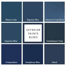 blue paint swatches 8 paint colors for a blue front door blue door living