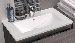 hudson reed urban 600mm grey avola unit with slimline basin fmu526