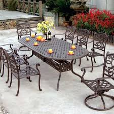 Iron Patio Table And Chairs Ideas Metal Patio Set And 3 Metal Patio Conversation Set
