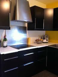 cuisine noir et jaune awesome cuisine blanche mur gris et jaune ideas design trends 2017