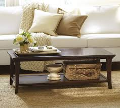 Rectangular Coffee Table Metropolitan Rectangular Coffee Table Pottery Barn