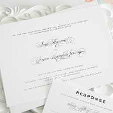 wedding invitations with a timeless script font u2013 wedding invitations