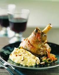 comment cuisiner une souris d agneau recette souris d agneau braisées purée aux noisettes
