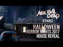 Starz Ash Vs Evil Dead House Reveal Halloween Horror Nights 2017