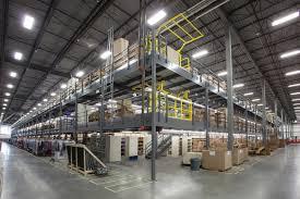 mezzanine warehouse systems