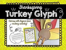 thanksgiving turkey glyph by biztown teachers pay teachers