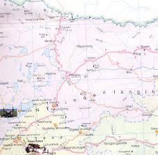 Map Qu Map Of Nagqu Nagqu Tourists Maps
