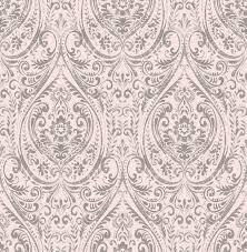 gypsy light pink damask wallpaper farmhouse wallpaper by