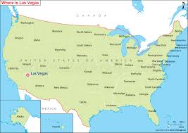 map us las vegas where is las vegas located las vegas location in us map