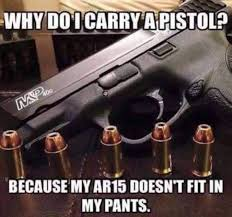 Carry On Meme - hilarious meme reveals why so many carry a pistol