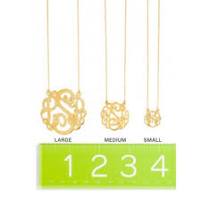 monogram necklaces ribbon letter monogram necklace baublebar