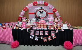 minnie mouse birthday party baby keira 1st minnie mouse birthday party baby shower ideas