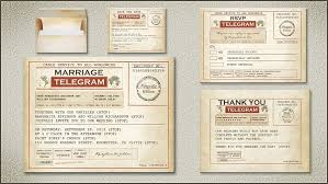 read more vintage telegram wedding invitation wedding