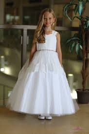 communion dresses for satin communion dress with lace and tulle lace holy