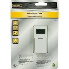 Defiant Timers Dimmers Switches U0026 by Defiant 5 Amp In Wall Digital Timer With No Neutral Wire Wall