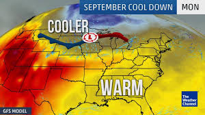 Weather Classic Map Fall Is Coming The Weather Channel