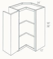 jsi cabinetry essex kitchen cabinet scw2430 ess corner cabinets