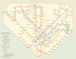Singapore Subway Map by Index Diversion 4 Retro Singapore Mrt Theodore Ditsek