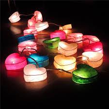 heart shaped christmas lights heart shaped solar string lights 5 jpg