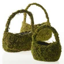 Moss Vase Filler Moss Basket Accent Décor