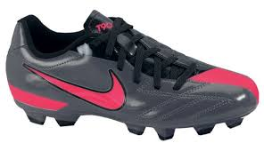 Nike T90 nike t90 shoot iv fg youth cleat in grey and 472567 060 nike
