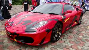 modified ferrari sticker modified ferrari f430 johor malaysia youtube
