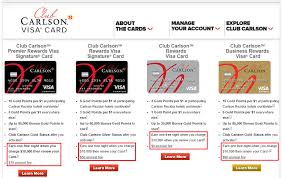 Us Bank Credit Card Designs How To Redeem Your Club Carlson Domestic Free Night Certificate