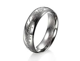 rings of men girlz lord of the rings ring for men silver in jewellery